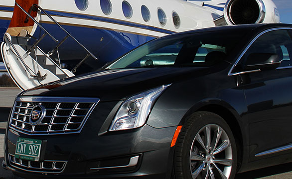 Cadillac XTS chauffeured limousine