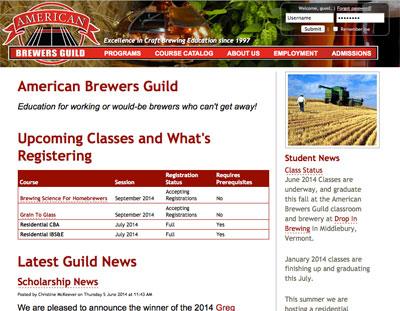 American Brewer's Guild: abgbrew.com