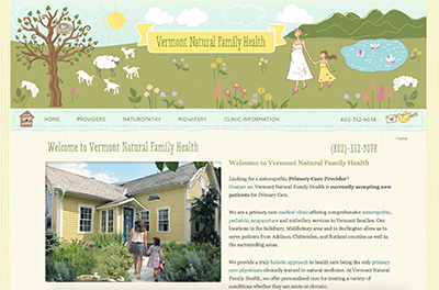 Vermont Natural Family Health - VermontNaturalFamilyHealth.com